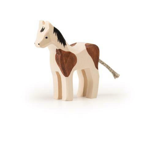 Pinto petit cheval en bois Trauffer no 1117