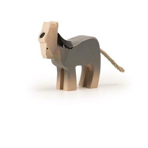 Petit âne en bois Trauffer no 1109