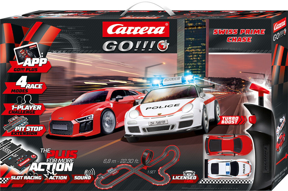 Circuit voiture Carrera Go Swiss Prime Chase