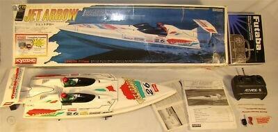Kyosho Off Shore Jet Arrow bateau de course à monter