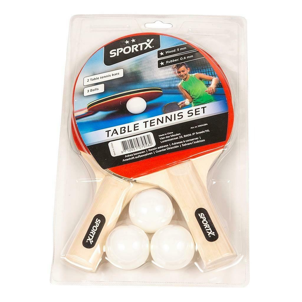 Set de raquettes de ping-pong, tennis de table