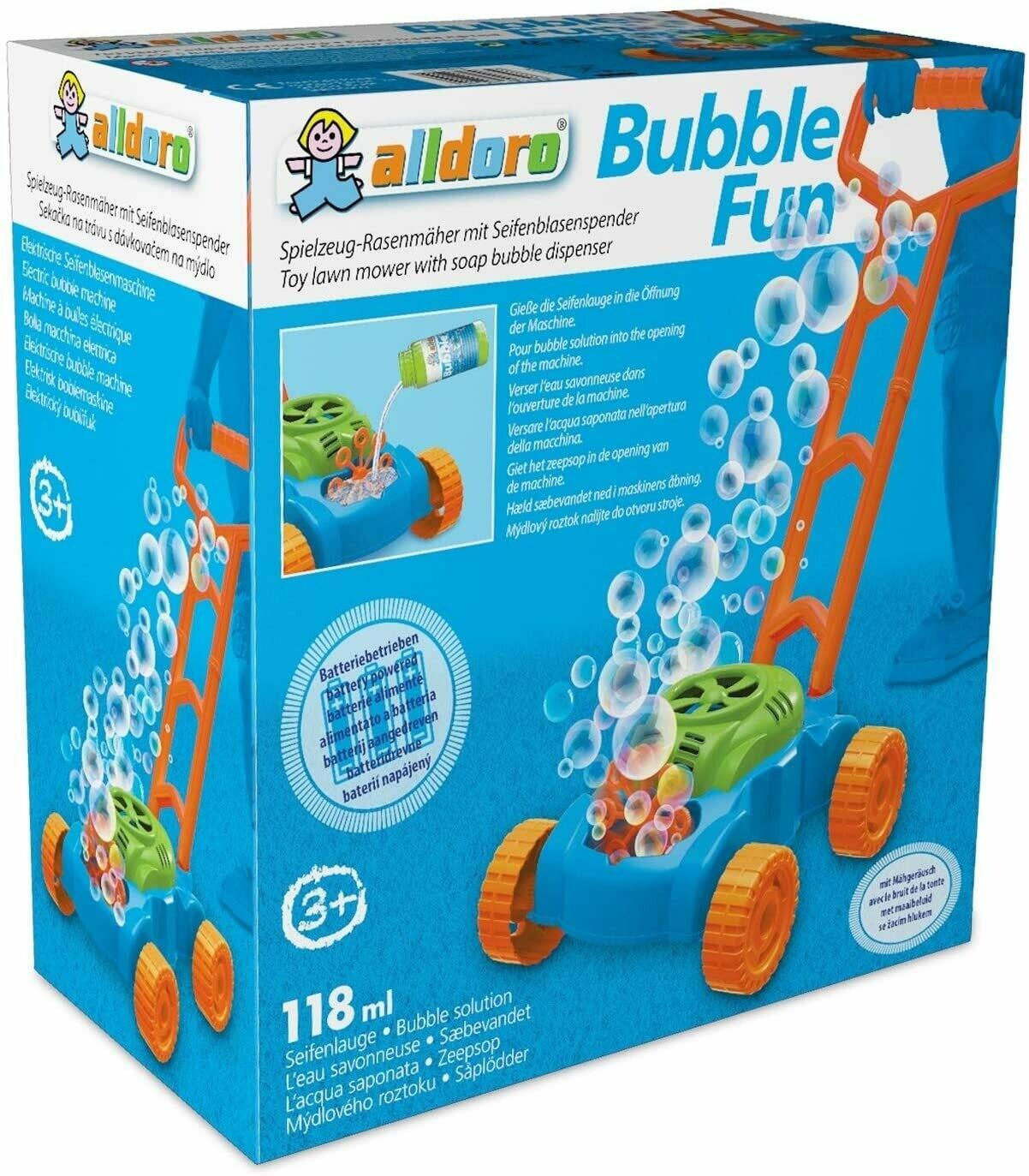 Tondeuse à bulles électrique