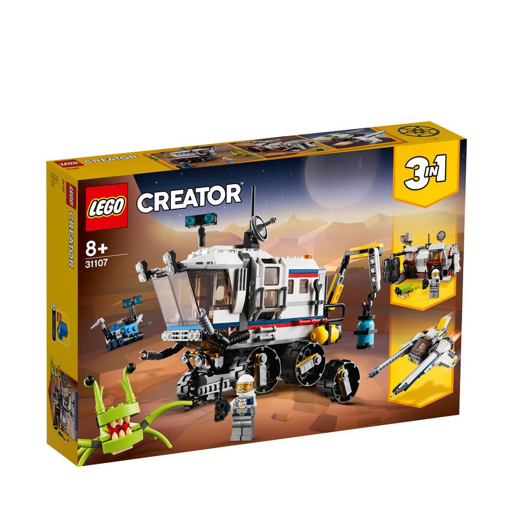 Lego Creator l'explorateur spatial