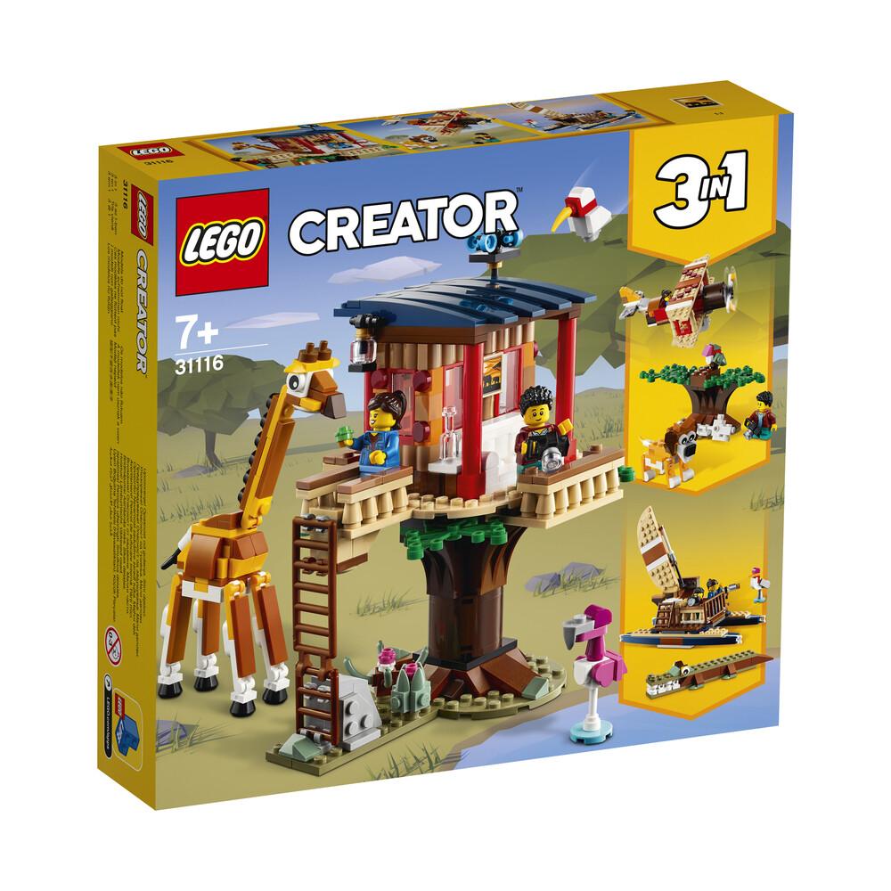 Lego Creator la cabane dans l'arbre du safari