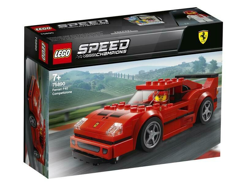 Lego Speed Ferrari F40 Competizione