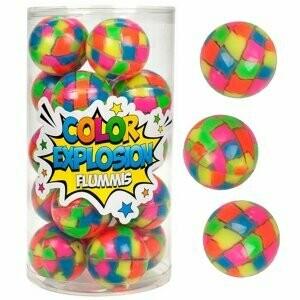 Balle magique 43.5 mm couleur néon