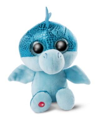 Dragon Jet-Set bleu brillant 25 cm bras ballants