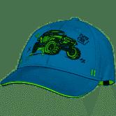Casquette verte avec Monster Truck Jeep