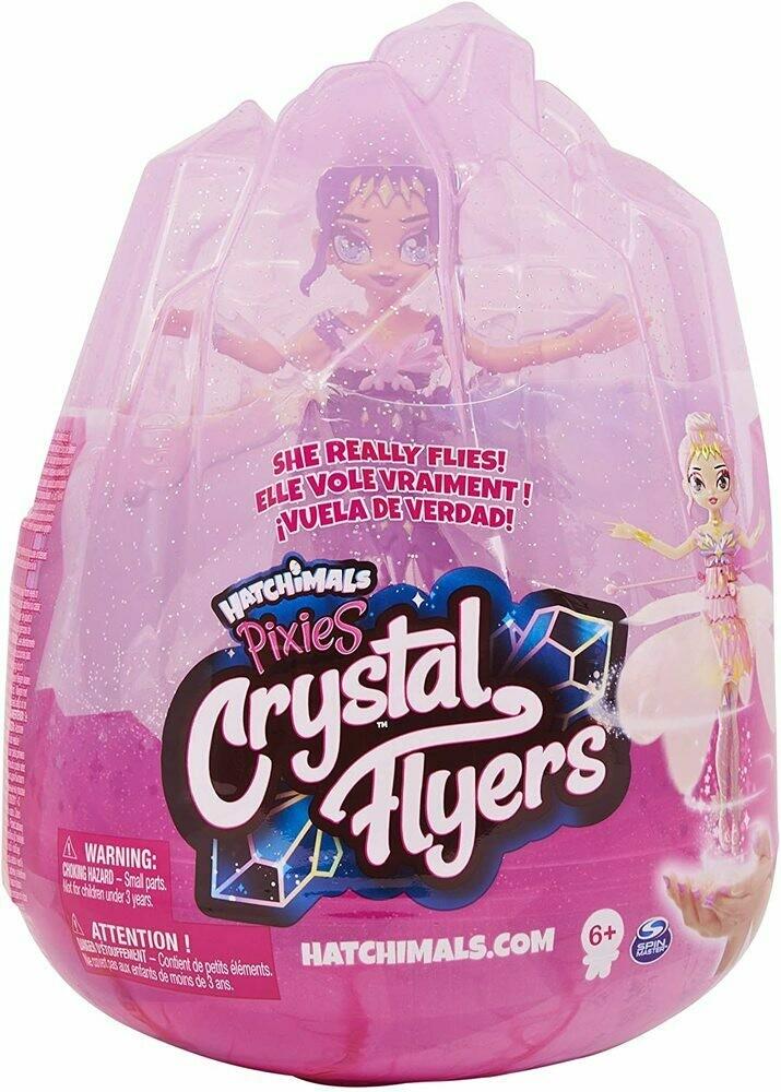 Hatchimals Pixies Crystal Flyers fée violette