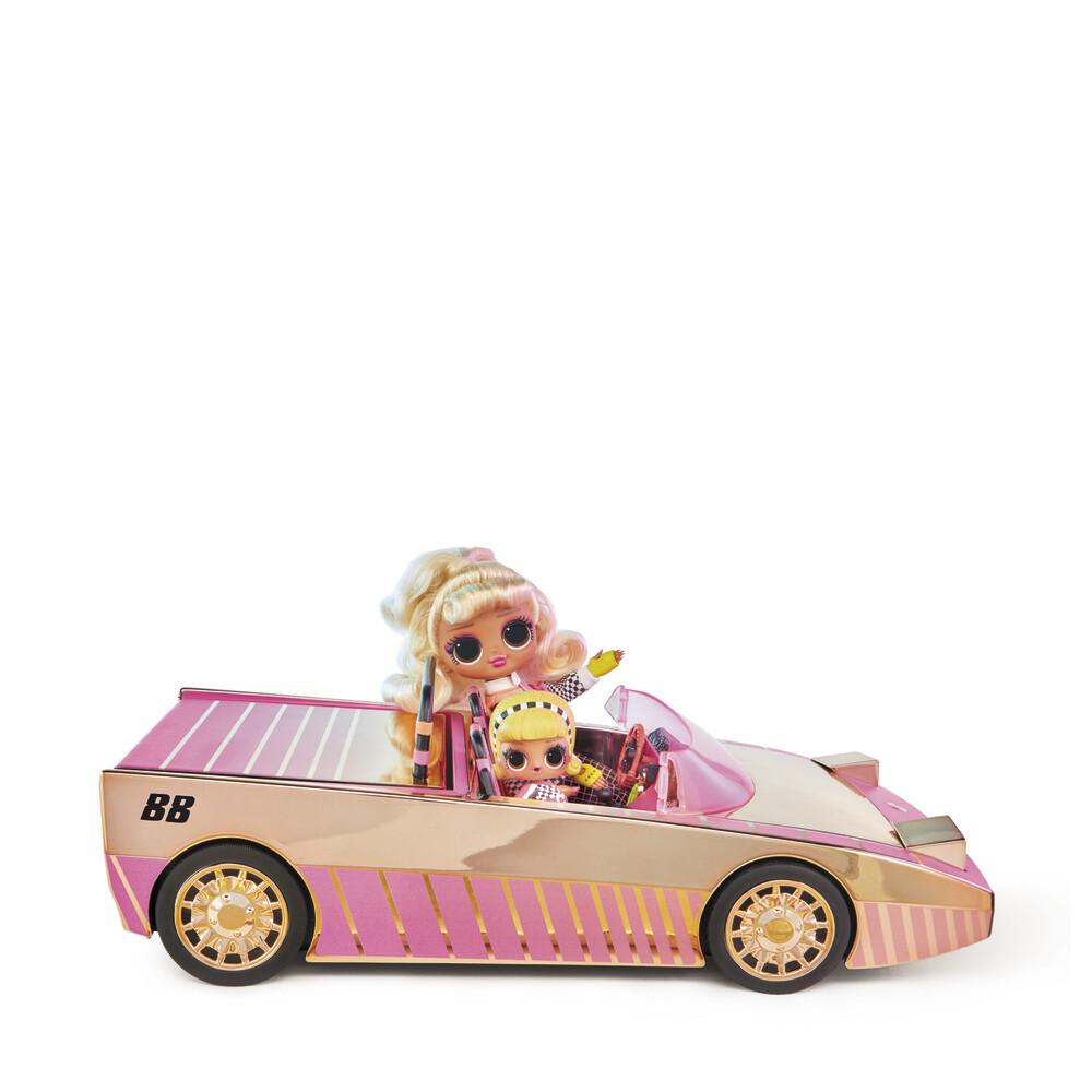 LOL Surprise Car-Pool Coup with exlusive doll, voiture avec poupée Exclusive