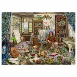 Ravensburger Puzzle Escape 759 pièces L'atelier d'artiste