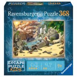 Ravensburger Puzzle Escape 368 pièces L'Aventure des pirates