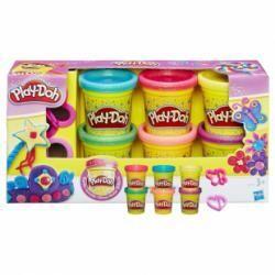 Play-Doh pâte à modeler 6 pots avec paillettes