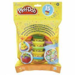 Play-Doh pâte à modeler sac de fête, pots et autocollants!
