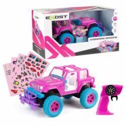 Exost voiture télécommandée Crossroad Amazone Jeep rose