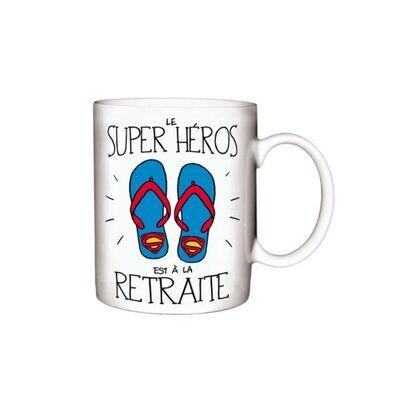 Tasse le Super héro Retraite