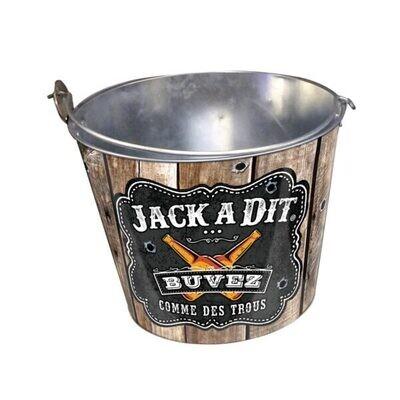 Seau à bières Jack à dit Buvez comme des trous
