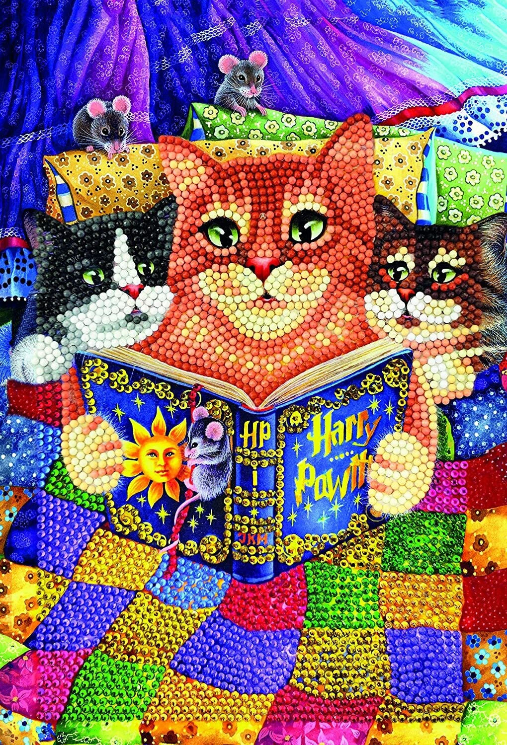 Crystal Art cahier de notes Chats