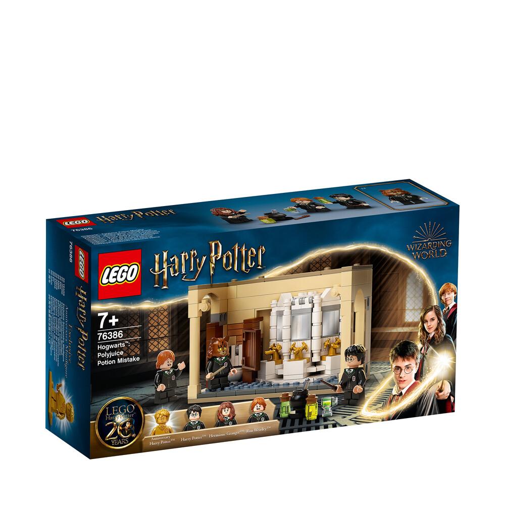 Lego Harry Potter Poudlard l'erreur de la potion Polynectar