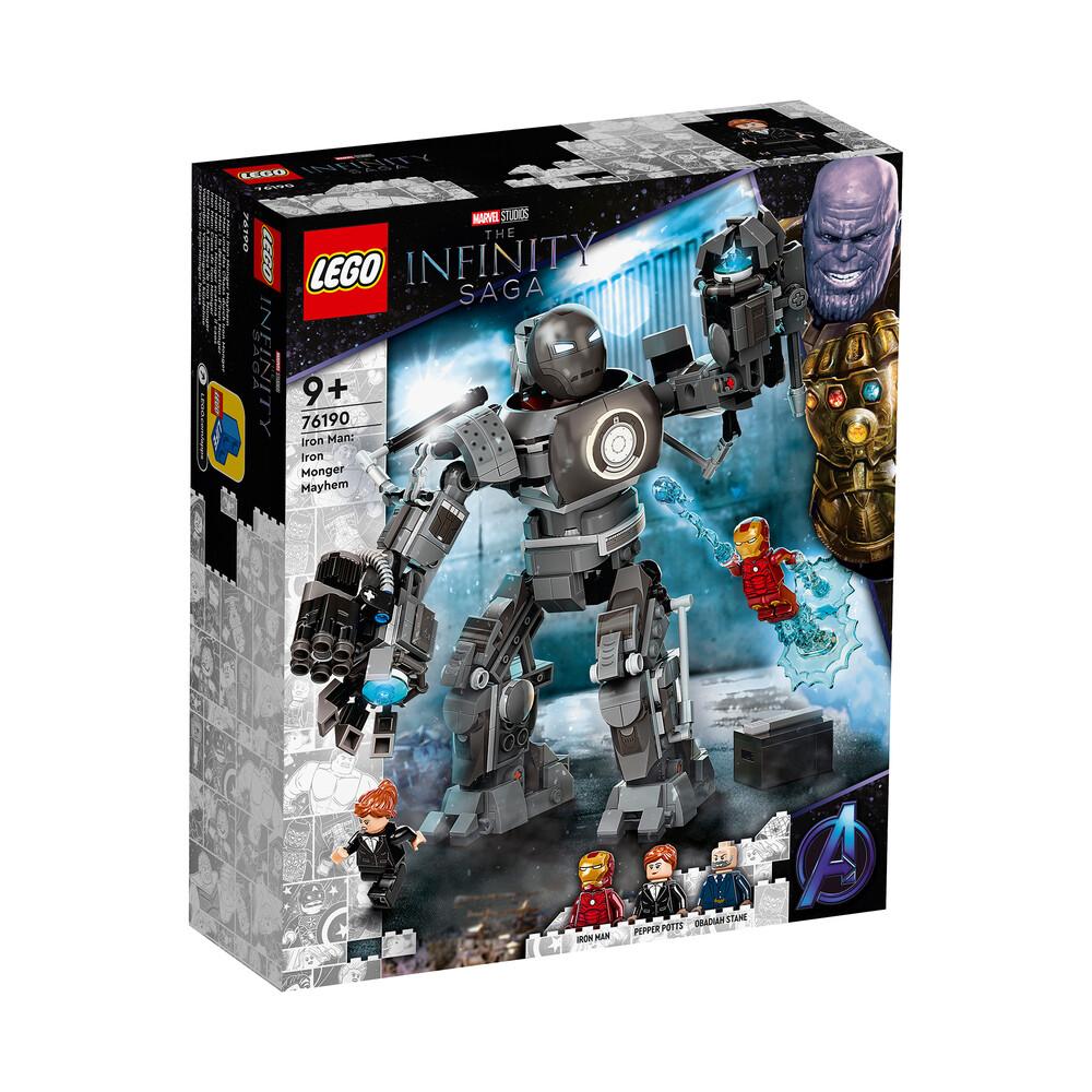 Lego Marvel The Infinity Saga Iron Man: la destruction d'Iron Monger