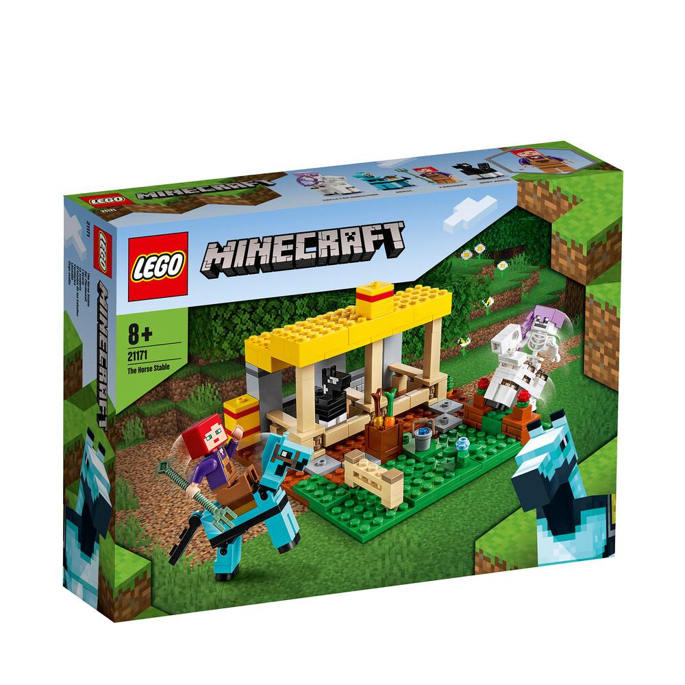 Lego Minecraft L'écurie