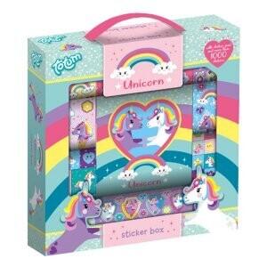 Licorne box Stickers