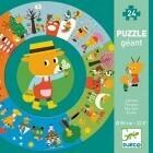 Djeco Puzzle géant L'année 24 pièces