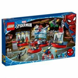 Lego Spiderman L'attaque contre le repaire de Spider, Marvel Super