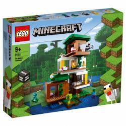 Lego Minecraft La cabane moderne dans l'arbre