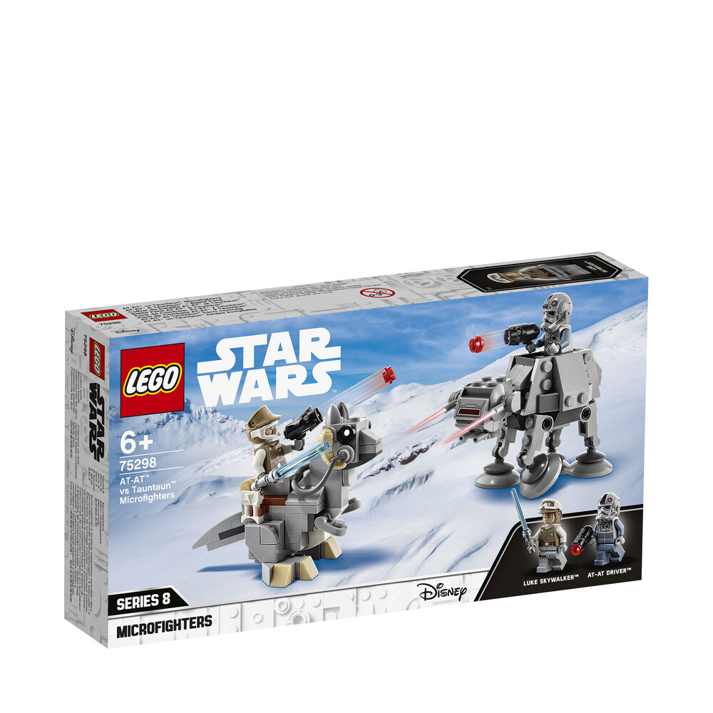 Lego Star Wars Disney Microfighters AT-AT contre Tauntaun