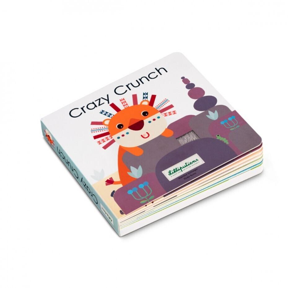Livre sonore et tactile Crazy Crunch Lilliputiens