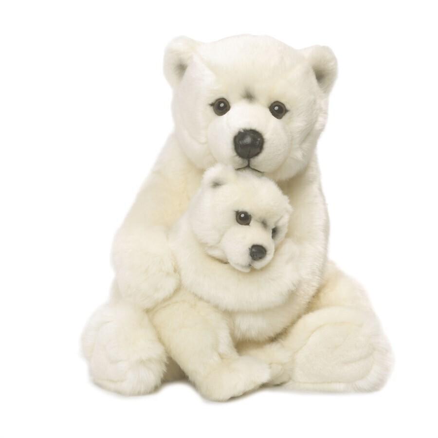 Ours polaire avec bébé