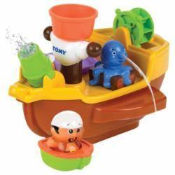 Bateau pirates avec des animaux gicleurs Tomy