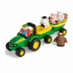 La parade musicale de la ferme, tracteur John Deere