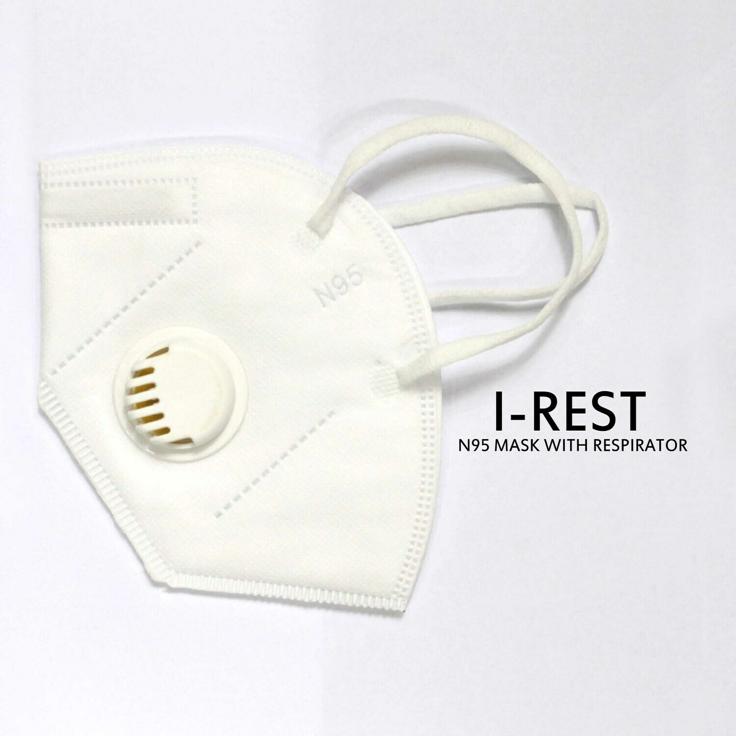 IREST. N95 MASK WITH RESPIRATOR