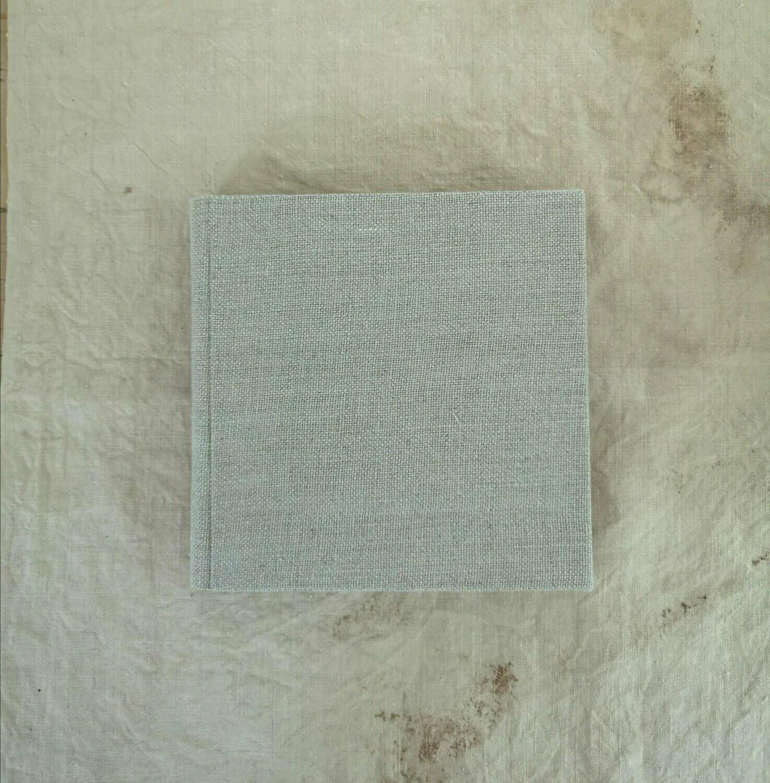 Handbound Belgian linen journal
