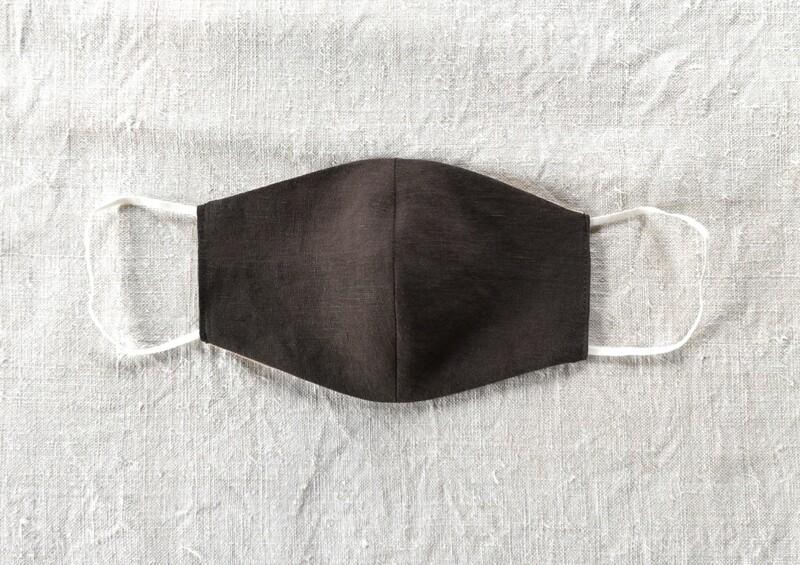 linen mask - Forest