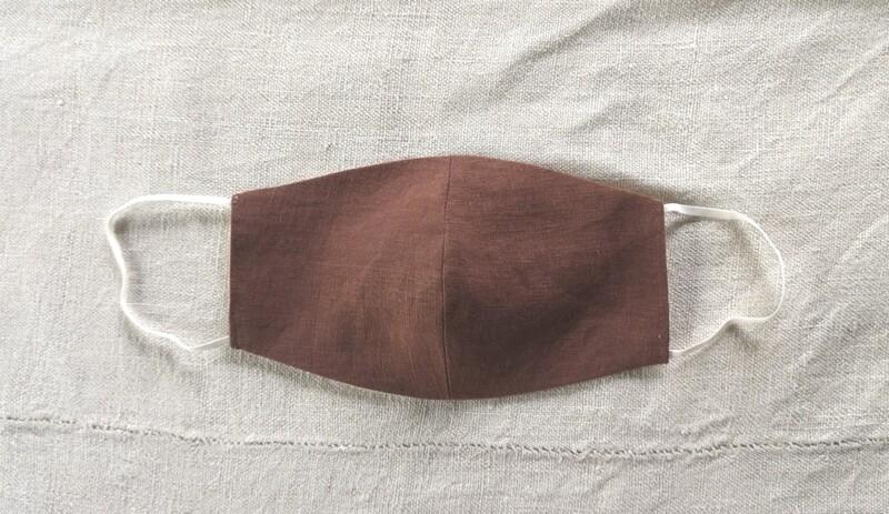 linen mask - Fig