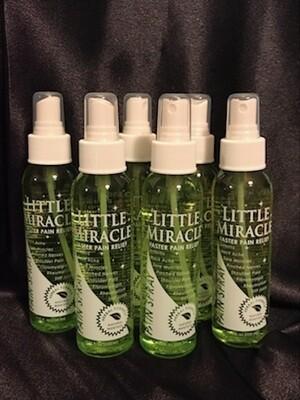 "6-er Pack ""Little Miracle Pain Spray ©"" 754,2 ml  Sie sparen 19,50 EUR"