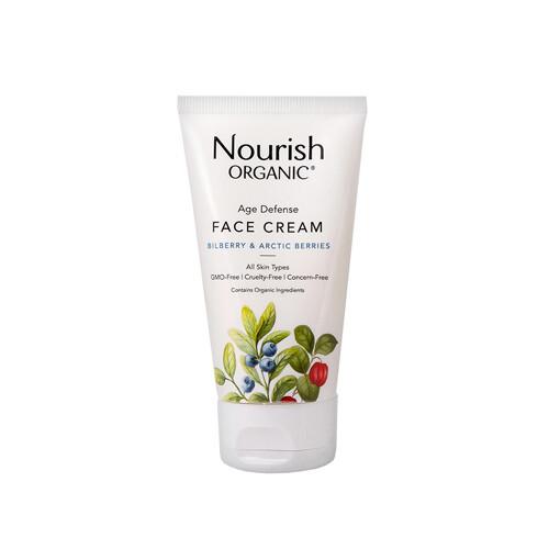 """Антивозрастной крем для лица с экстрактом клюквы """"Арктические ягоды"""" Nourish Organic, 50 мл"""