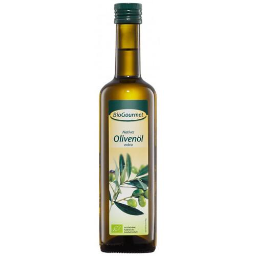 Масло оливковое первого отжима BioGourmet 500 мл.
