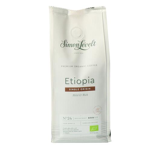Кофе натуральный жареный молотый Cafe organico Ethiopie Simon Levelt 250 г.