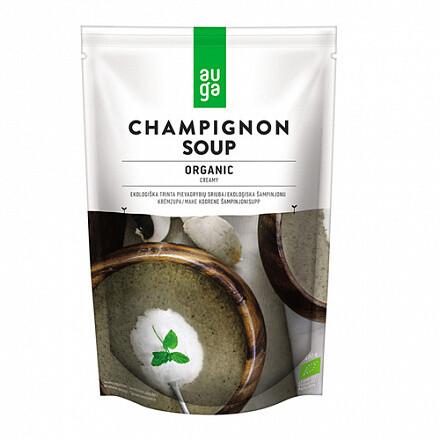 Крем-суп из шампиньонов, органический Auga 400 г.