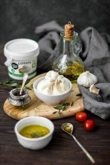 Сыр Буррата «Углече Поле» 150 гр.