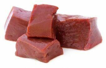Печень говяжья (Ангус) охл в/у охл, «Углече Поле» 1 кг.
