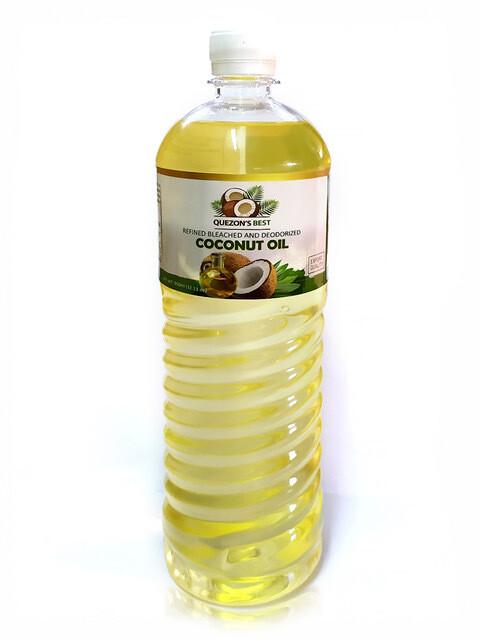 Рафинированное кокосовое масло QUEZON'S BEST, 500 мл