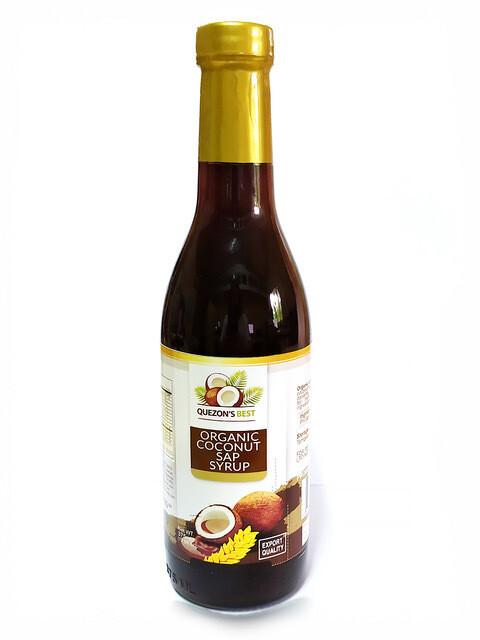 Органический кокосовый сироп QUEZON'S BEST, 375 мл