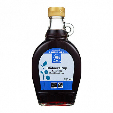 Сироп черничный органический 250 г