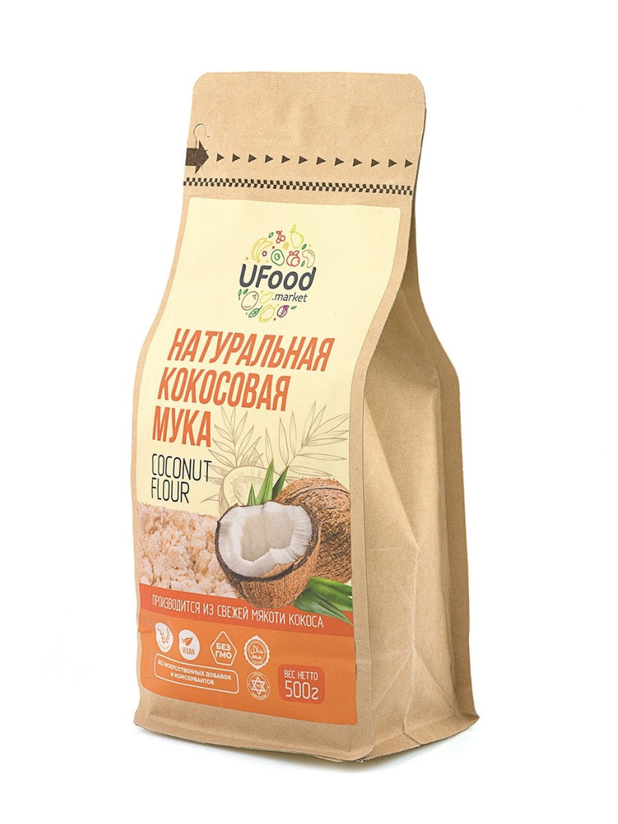 Кокосовая мука Ufood, 500г