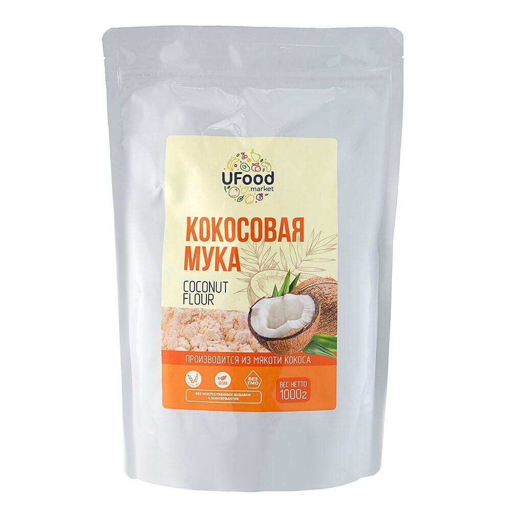 Кокосовая мука Ufood, 1000г